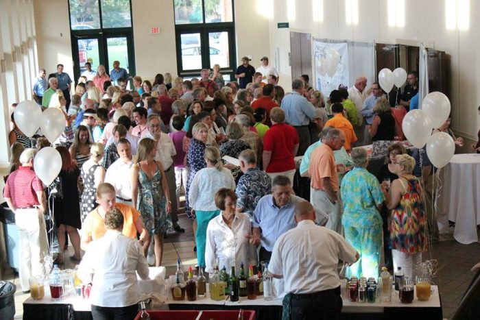 5. Eat (and drink) to your heart's content at the Natchez Food and Wine Festival.