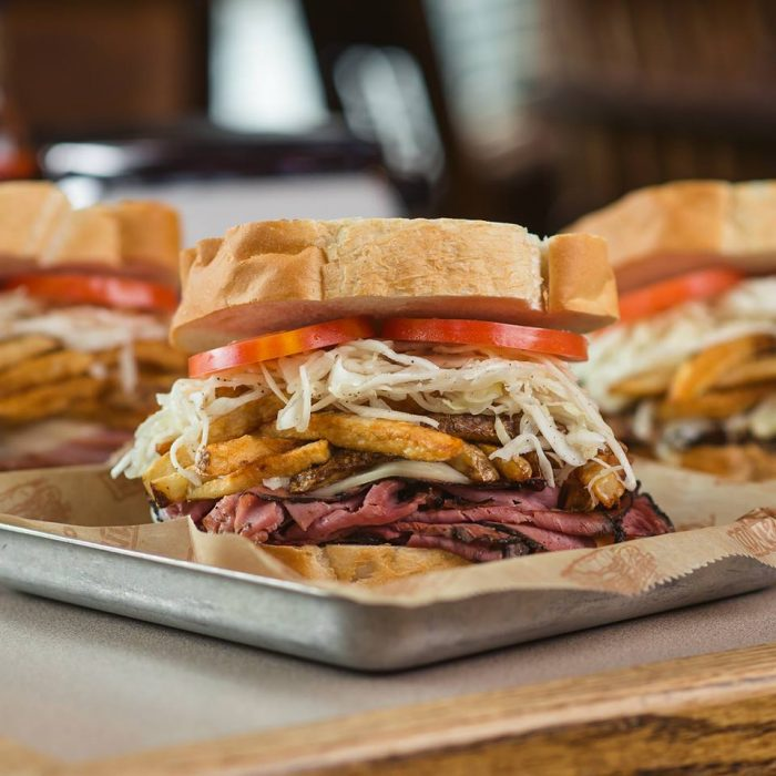5. Fries on salads and sandwiches? Yes, please. Pittsburgh knows good food and our taste was recognized by