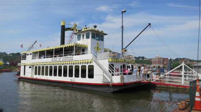 6. Go for a riverboat ride on the Mississippi River in Dubuque.