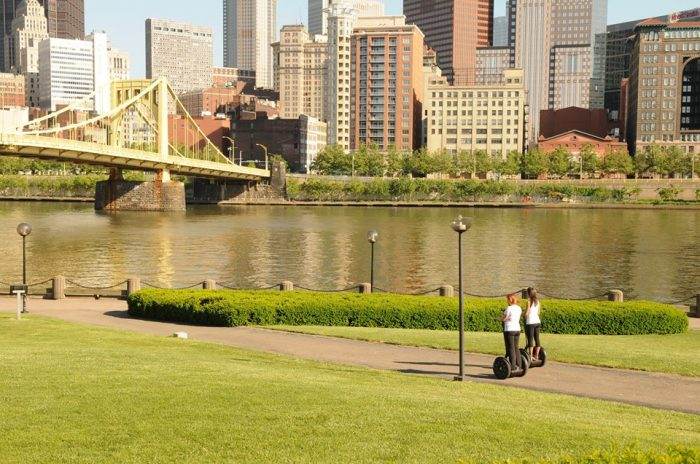 5. Tour the city by segway.