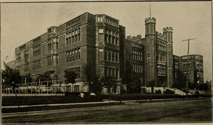 5.McKinley High School, on Missouri and Russell Avenues to Ann Avenue, St. Louis