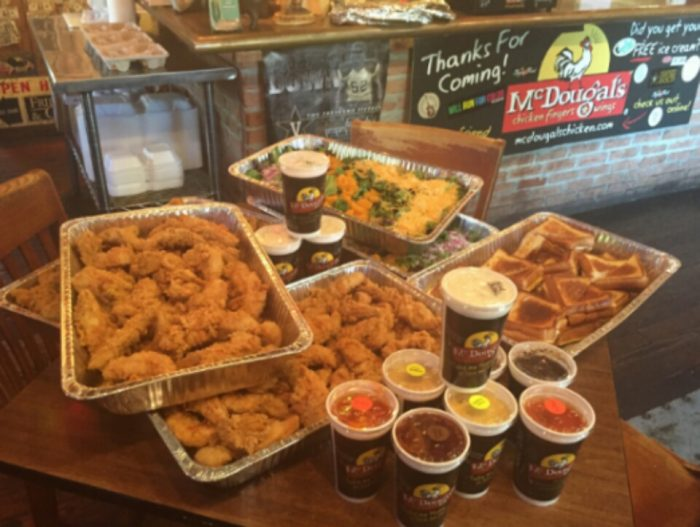 5. McDougal's Chicken Fingers and Wings