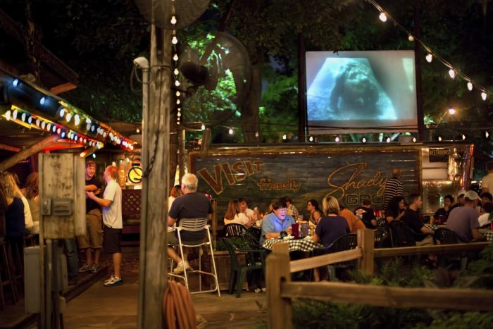 10. Dinner and a movie? Yes, please! At Shady Grove.