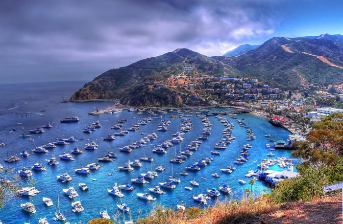 1. Catalina Island at every angle looks too good to be true.