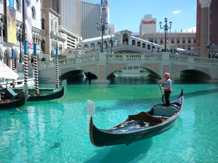 3. Don't take a gondola ride at the Venetian.