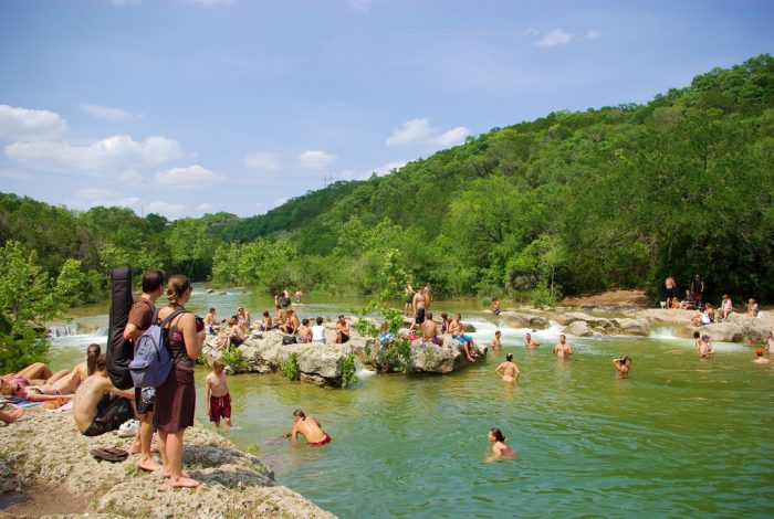 5. Austin gets about 300 days of sunny weather year-round. Amazing!