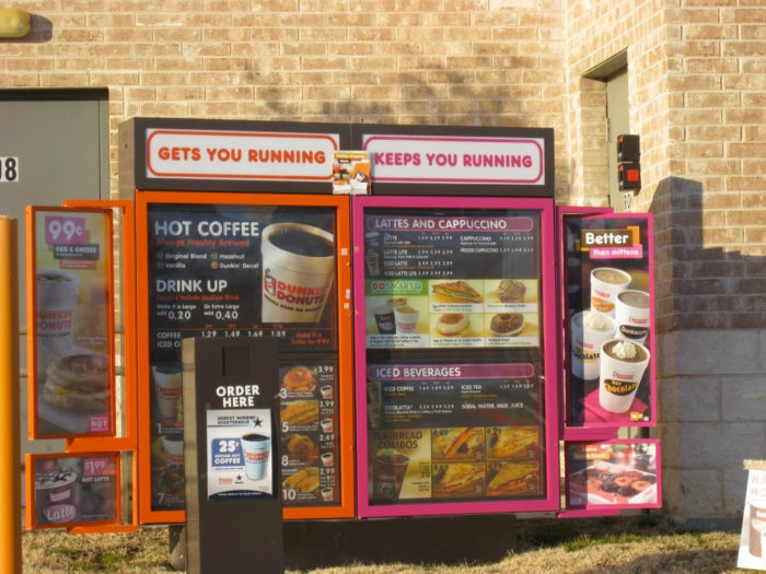 9. The Dunkin' Donuts drive-thru between 8 a.m. and 10 a.m. It's like a mini version of the Mass Pike during rush hour.