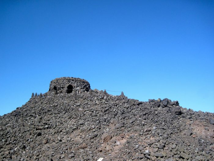 Dee Wright Observatory at the peak of McKenzie Pass
