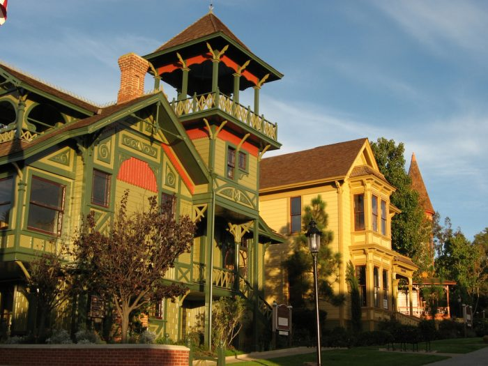 7. Old Town San Diego is always a great spot for capturing colorful pictures of historic houses that are so charming they are almost unreal.