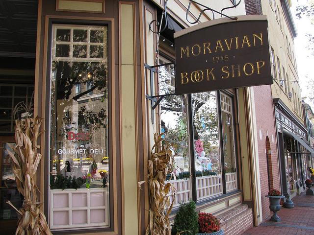 4. The Moravian Book Shop