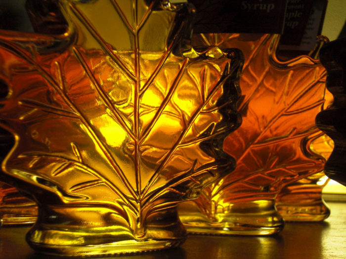 15.  Maple syrup