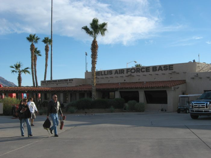3. Nellis Air Force Base