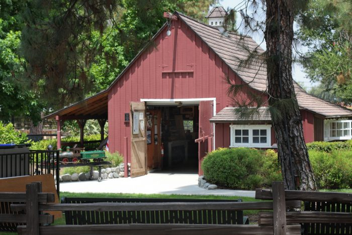 4. Walt Disney's Barn in Griffith Park