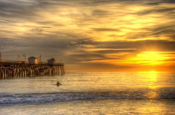 20. Last but not least, there's truly nothing like the warm glow of a SoCal sunset to wrap up the day like this magic moment in San Clemente.