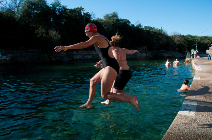 7. Barton Springs Pool is a must-visit with its icy cold waters to douse the heat!