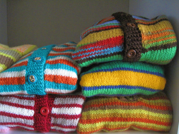 3. Putting away winter clothes before April. Better yet, keep a few sweaters in rotation until May.