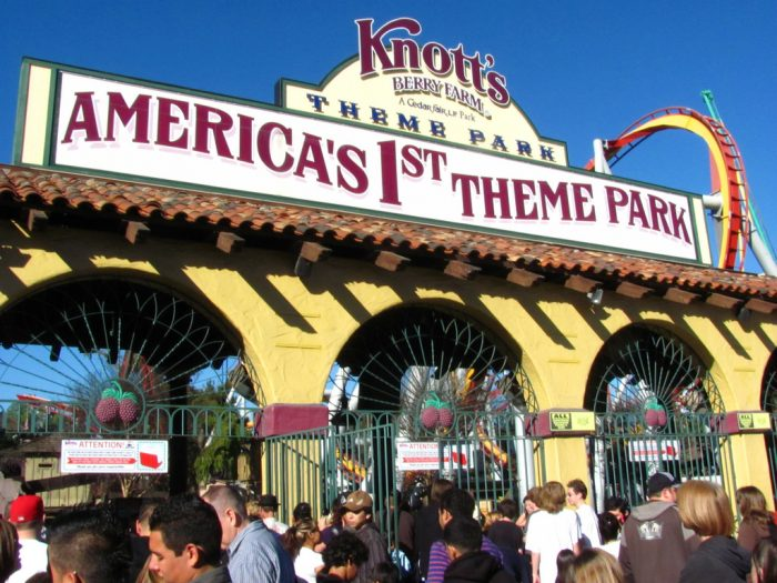 9. Embrace your inner child and have an adventure at Knott's Berry Farm.