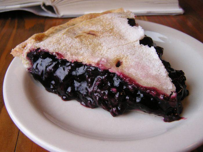 7. Marionberry pie