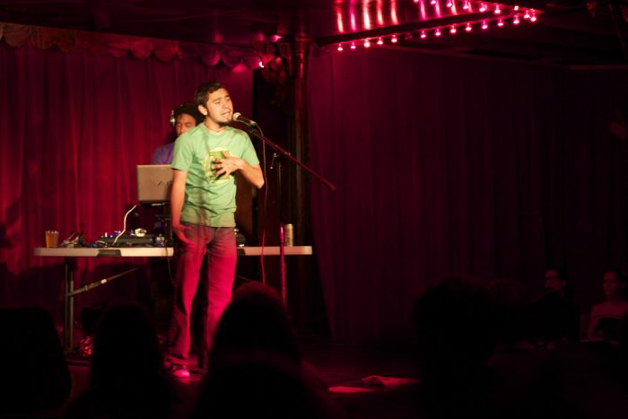 7. Attend (or better yet, perform) at an Austin Poetry Slam show...usually held at Spiderhouse every Tuesday.