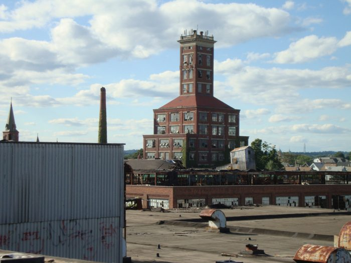 6. Some folks think Remington Arms  in Bridgeport has taken so long to destroy because people are afraid to be around it.