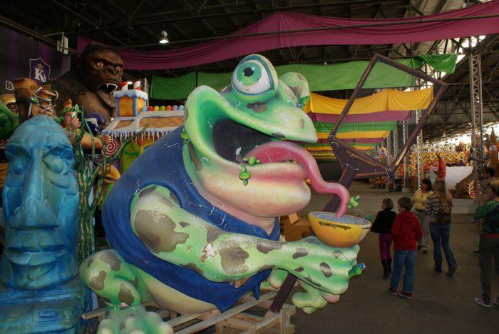 7) Mardi Gras World