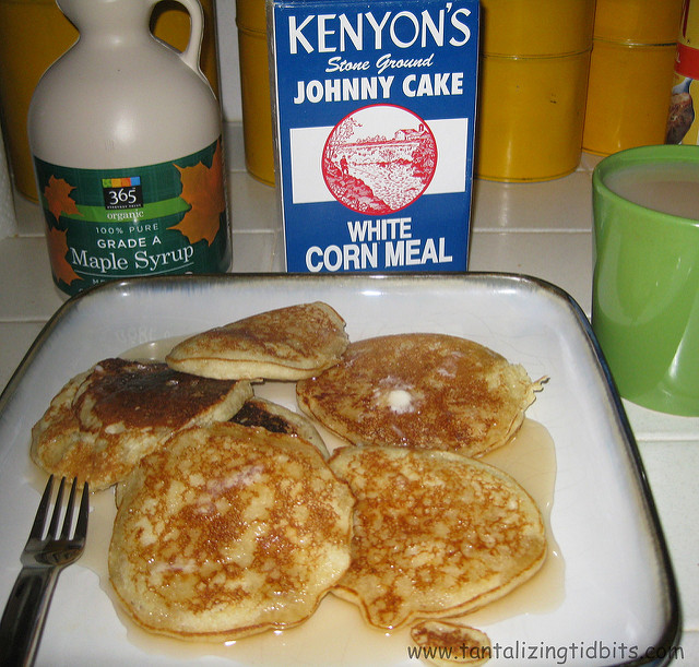 3. Johnny Cakes are a staple food for this small state and Kenyon's is definitely the brand of choice!
