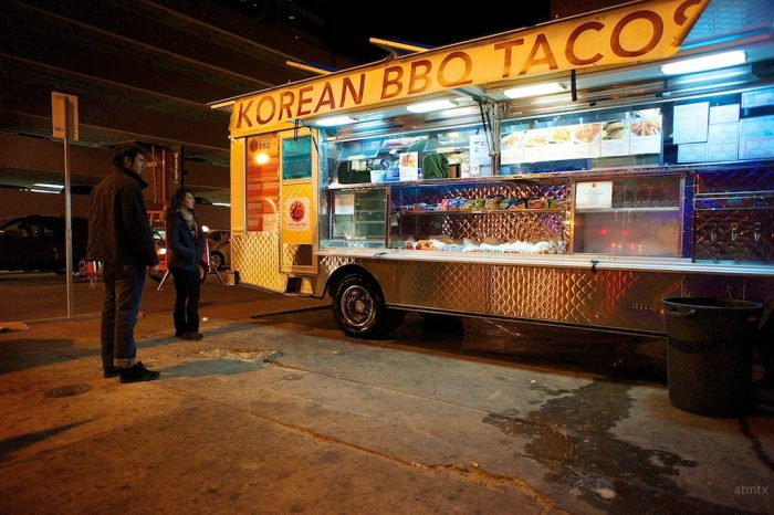 2. Everyone has long known about Chi'Lantro and their delicious food trucks (and shops) scattered throughout Austin. Korean and Mexican fusion food? Yes, please.