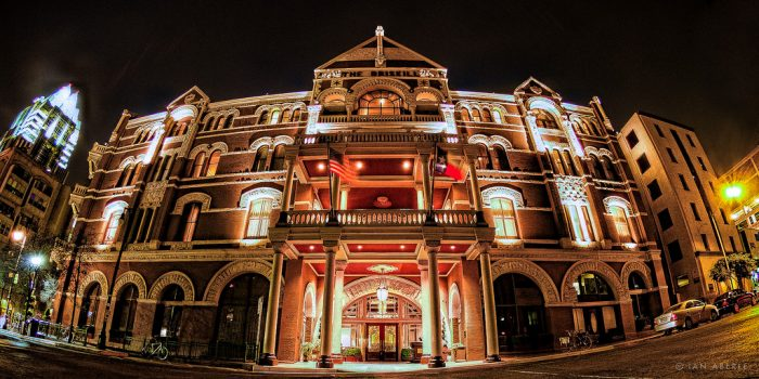 Built in 1886 as a cattle showroom, it only makes sense that the Driskill would be full of history.