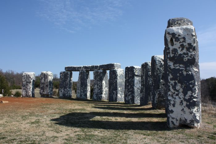 13. Stopping to see the iconic roadside attractions