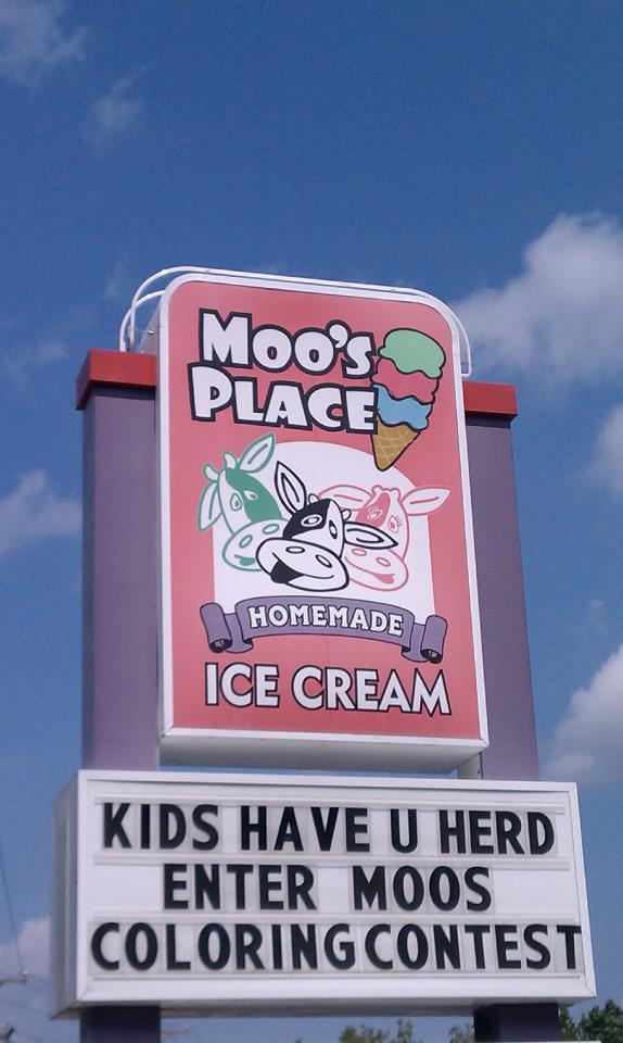2. Moo's Place Homemade Ice Cream, Derry