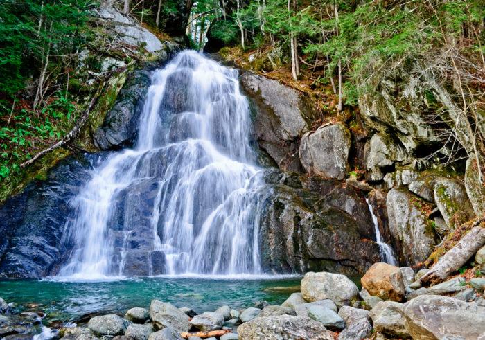 10.  Waterfalls abound.