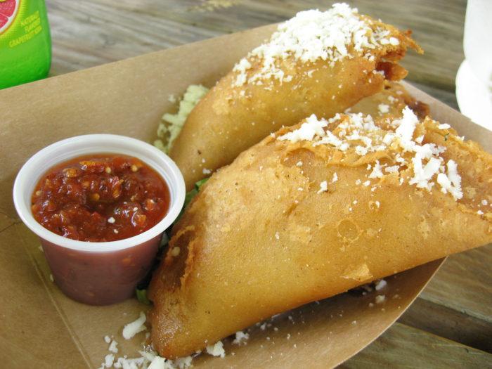 9. El Naranjo food truck serves up some of the best empanadas in Austin!
