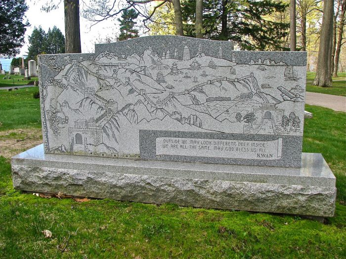 3.  Lakeview Cemetery, Burlington