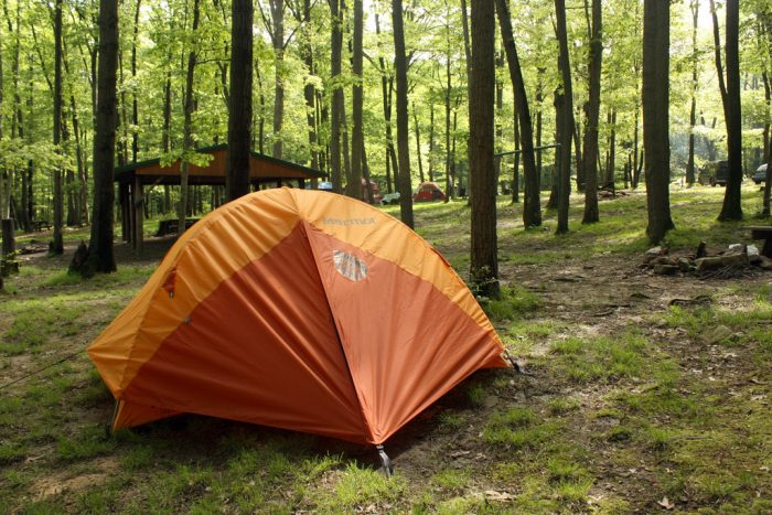 8. Go Camping