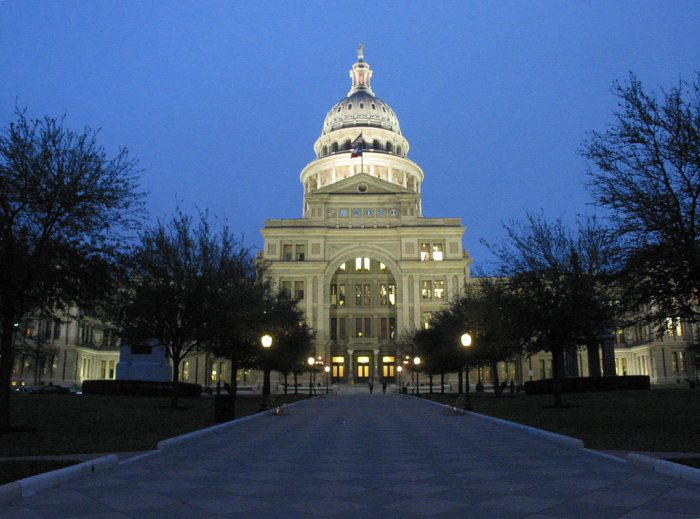 7. The Texas Capitol