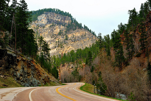 13. Spend time in Spearfish Canyon.