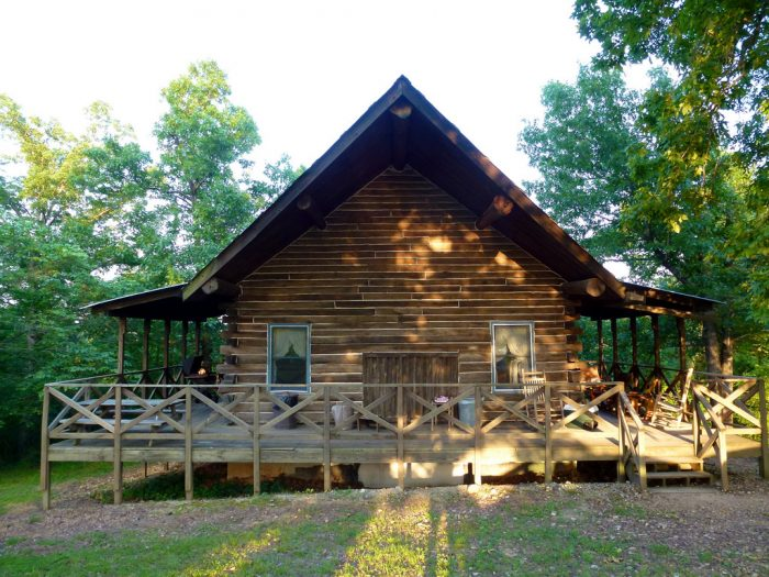 14.Rent a cabin for the weekend.