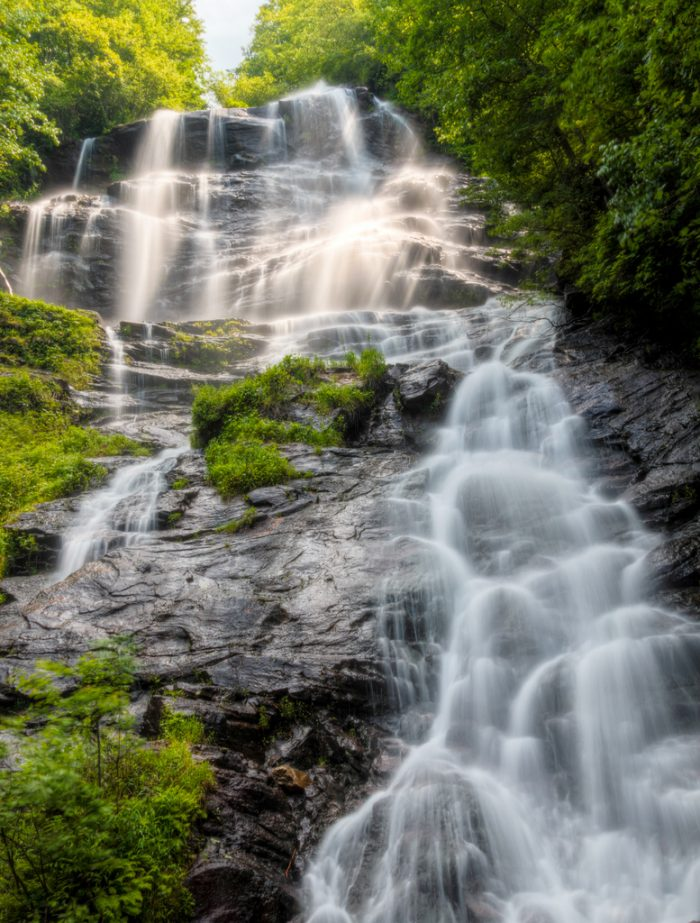 10. Feel the fresh mist at Amicalola Falls State Park