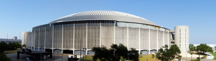 1. We built the first domed multi-purpose sports arena.