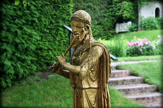 2. Sculptures and beautiful gardens make Saint-Gaudens National Historical Site in Cornish enchanting.