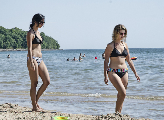 9. During the summer you'll get to look at them in their swimsuit all the time.