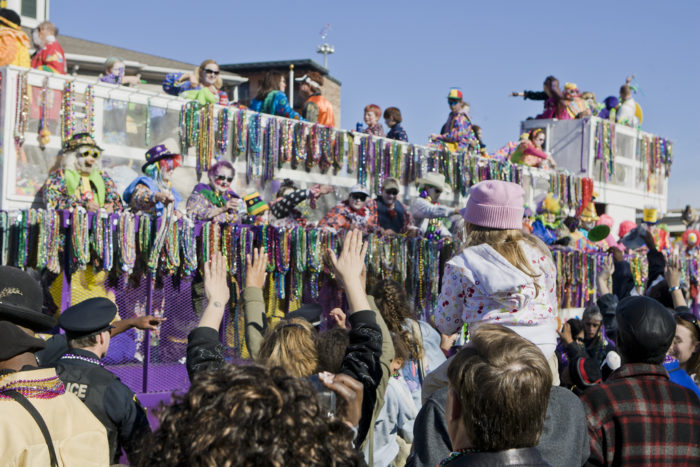 1. The first Mardi Gras celebration was held in Mobile in 1703.