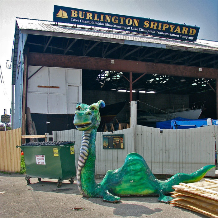 12.  Vermont's Loch Ness Monster.