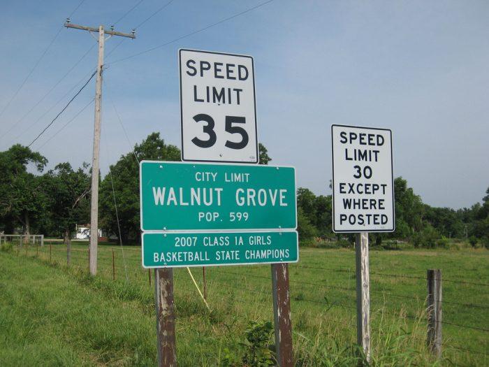 15. Walnut Grove