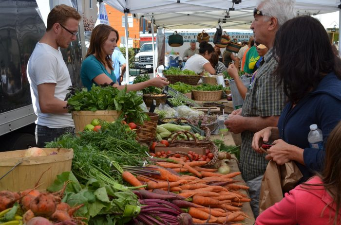 8. Linger at a farmer's market and pick out fresh and organic fruits and veggies grown right here in Southern California.