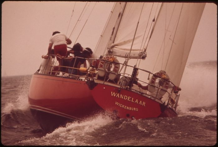3. The 1973 Annapolis-Newport Race. This vessel finished in 8th place.