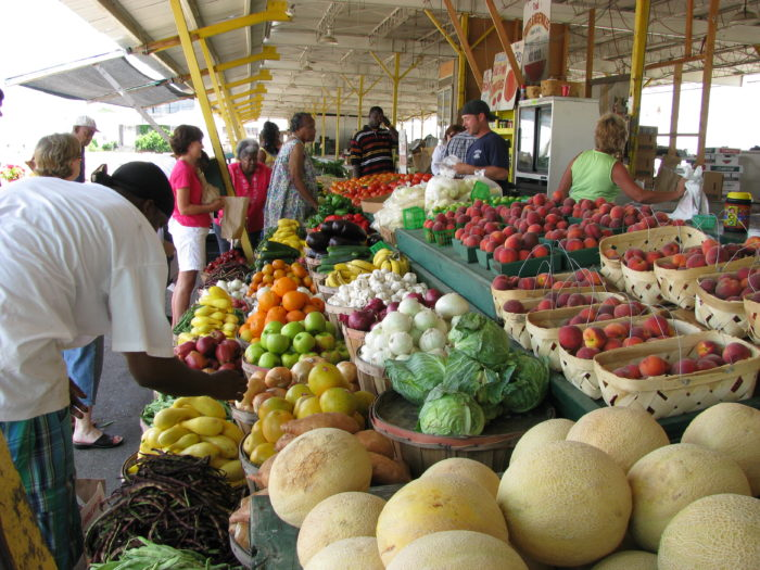 6. Some of the most amazing farmers markets.