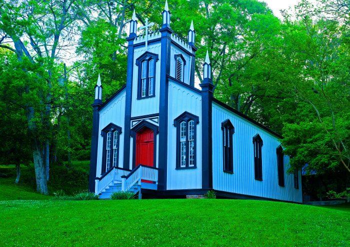 6. Sacred Heart Roman Catholic Church, Port Gibson