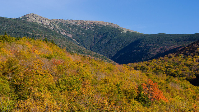 9. This shot of Mount Lafayette shows the contours of New Hampshire in a dramatic fashion.