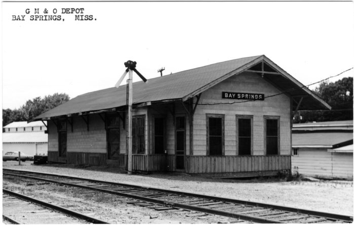 6. First settled in the 1880s, the arrival of the railroad substantially changed Bay Springs. Today, this quaint station stands as a reminder of the days long gone.